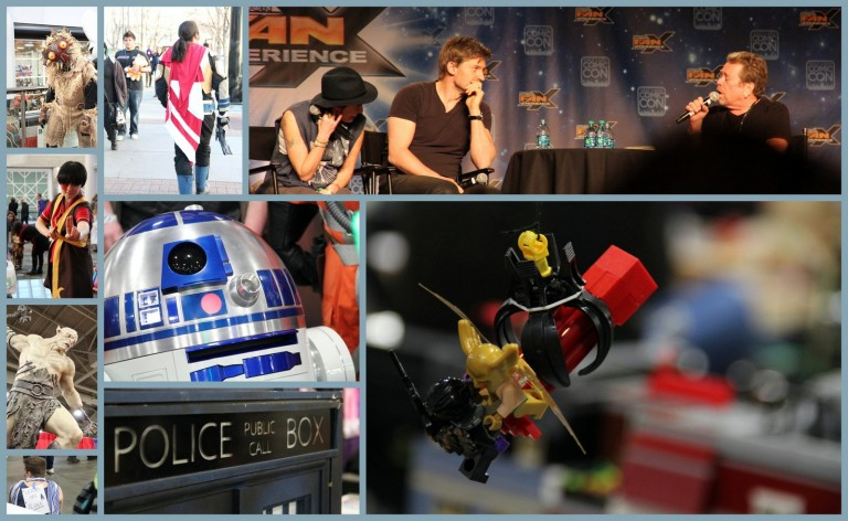 Comic Con Collage